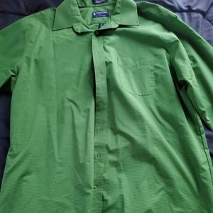 men stafford dress shirt 17 1/2